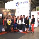 La CCI Tarn retrouve les présidents d'associations de commerçants à la Foire d'Albi 2013 / © CCI du Tarn