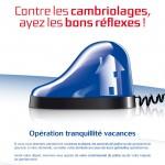 Opération Tranquillité Vacances 2013