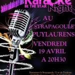 Puylaurens Soirée karaoké (c) Le Strapagoule