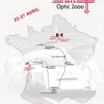 Tour Auto Optic 2000, parcours 2013