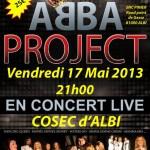 Albi concert pop ABBA project (c) Albi Volley-Ball