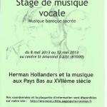 Albi stage de musique vocale (c) Association Chiome d'Oro / Clizia