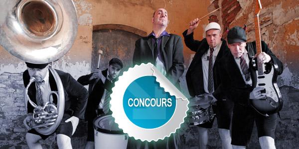 Gagnez des places pour la Fanfare Rockbox à Saint-Sulpice - Concours DTT