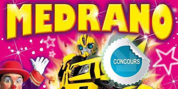 Gagnez des places pour l'un des spectacles de la tournée Medrano dans le Tarn - Concours DTT