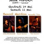 Lavaur Concert Flamenco Jazz (c) Benoit Mardon Acoustic Trio