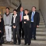 Conférence de presse Le joli mois de l'Europe, 2 mai 2013 - Sorèze / © Préfécture du Tarn