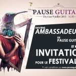 Deviens ambassadeur de Pause Guitare