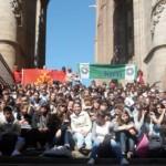 Les élèves à Albi lors des « 3ème rencontres occitanes des collégiens tarnais » en mai 2011 / © CG 81