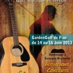 Swing in tarn 2013 (c) GardenGolf de Fiac