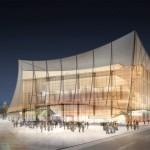Projet du Grand Théâtre d'Albi / © Ville d'Albi
