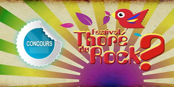 Gagnez des places pour le festival Thoré du Rock ? 2013 à Mazamet - Concours DTT