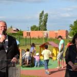 Inauguration de la crèche intercommunale de la Rose des vents le jeudi 27 juin 2013 - Gaillac / © Tarn & Dadou
