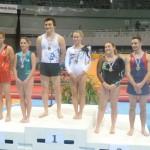 Gymnastiqye, championat de France 2013, médaille de bronze pour Louis Poubanne (à droite) / © Tempo Gym