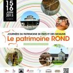 Journées du patrimoine de pays et des moulins 2013