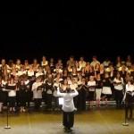 Le Garric les colleges qui chantent ! (c) Tarn Education Culture