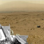 Photo panoramique de Mars prise par le robot Curiosity / © NASA
