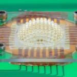 Une nouvelle micro caméra inspirée de l'oeil à facettes des insectes / © University of Illinois and Beckman Institute