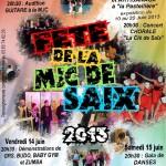 Saix Fête de la MJC (c) MJC SAIX
