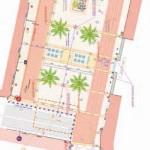 Plan de la Place Gabarrou, Castres / © Ville de Castres