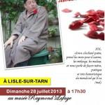 De la fuite dans les idées (c) Mairie de Lisle-sur-Tarn