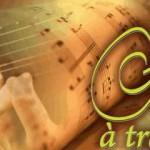 Guitare à travers champs (c) Association L'Eau Vive