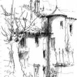 Lautrec Concours de carnets de croquis (c) Les Pinceaux de Cocagne