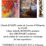 Lescure-d'Albigeois Exposition CLAP (c) CLAP : Culture Lescure Animation Passion
