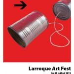 Puycelsi Larroque Art Fest (c) Ken Hay (Head Master à Université de Leeds)
