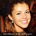 Sonia Maiurano, candidate Miss Albigeois Midi-Pyrenees 2013