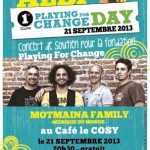 Albi albi playing for change day (c) Le Cosy
