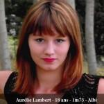 Aurélie Lambert, candidate Miss Albigeois Midi-Pyrenees 2013
