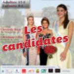 Election Miss Albigeois Midi-Pyrénées 2013 à Lisle sur Tarn - Les Candidates