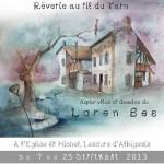 Exposition Rêveries au fil du Tarn (c) CLAP : Culture Lescure Animation Passion