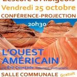 Conférence projection Ouest Américain (c) La médiathèque de Lescure d'Albigeois