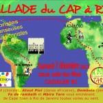 ballade du cap a rio pour le téléthon (c) Association Cadalen pour l'espoir