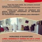 Couffouleux exposition artisanat d'art (c) association Art'oung