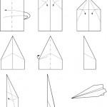 Fabrication d'un avion en papier (c) wikipedia.org