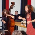 Dominique Rousseau et Eva Hahn lors de la remise des Prix 'Mémoire Vive' à Toulouse / © RaconTarn