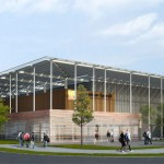 Projet de salle multisport à Lisle sur Tarn / © Ted