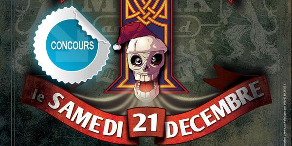 Gagnez des places pour le concert Rock for Xmas à Cap Découverte - Concours DTT