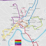 Plan du réseau Bougenbus, Gaillac