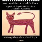 Exposition d'art populaire et tribal Indien (c) Ex-vinylo, Tomaturj