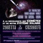 Soirée de l'Esprit Tarnais : à la découverte des comètes et de notre système solaire