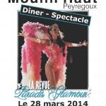 Peyregoux diner cabaret (c) Domaine du Moulin Haut