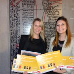 Anaïs Peru et Justine Gea, Grand prix de l'apprentissage 2014 / © CCI du Tarn