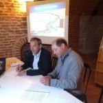 77ème Semaine Fédérale de Cyclotourisme signature convention de partenariat / © IVSO