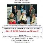 Carmaux Théâtre Humour (c) Cie Théâtre de la Dec'ouverte