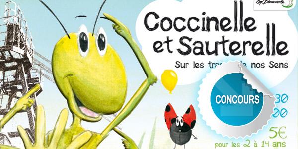 Gagnez des places pour le festival Coccinelle & Sauterelle à Cap Découverte - Concours DTT