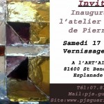 Inauguaration Exposition Atelier du Vitrail (c) Pierre Guerin