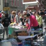 Vide grenier, brocante, marché aux fleurs (c) association Alban terroir